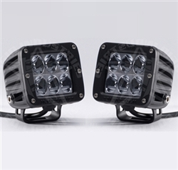 Rigid Industries Dually D2 LED Light Set   White Amber ...